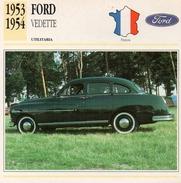 """Auto Da Collezione  """"Ford  1953  Vedette"""" (Francia) - Motori"""