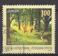 Bosnien-Herzegowina Serb. (2011)  Mi.Nr.  525  Gest. / Used  (8ew29)  EUROPA