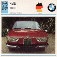 """Auto Da Collezione """"BMW  1965  2000 C/CS"""" (Germania) - Motori"""