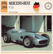 """Auto Da Collezione """"Mercedes-Benz  1954 W 196"""" (Germania) - Motori"""