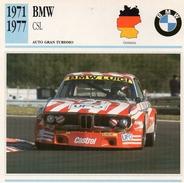 """Auto Da Collezione """"BMW  1971  CSL"""" (Germania) - Motori"""