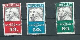 Uruguay Aérien Série Yvert N° 190 à 192 Tous * Ava10301 - Uruguay