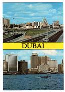CPSM DUBAI 1984 Creek Of Dubai Clock Tower United Arab Emirates Photography Awni Shiblaq DUBAI - Emirats Arabes Unis