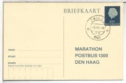 HOLANDA ENTERO POSTAL MARATHON MAT ZWOLLE - Postal Stationery