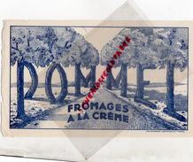 76 - GOURNAY EN BRAYE - BUVARD FROMAGES POMMEL - Food