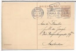 HOLANDA AMSTERDAM CENTRAL STATION 1926 MAT SELLOS TUBERCULOSIS MEDICINA ENFERMEDAD