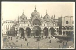 VENEZIA - S. MARCO - Studio Fotografico Sciutto N° 838 - Foto Venice Old Real Photo - Venezia