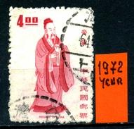 CINA - Year 1972 - Usato -used. - Usati