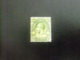 Turks And Caicos Islands 1923 - 25 GEORGE V Yvert N º  96 * MH