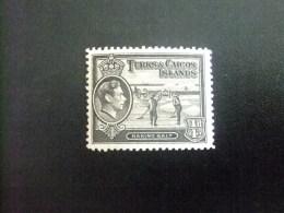 Turks And Caicos Islands 1938 RAMASSAGE Du SEL GEORGE VI Yvert N º 120 º MH