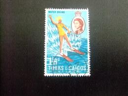 Turks And Caicos Islands 1967 SKI NAUTIQUE Yvert N º 207 º FU