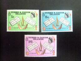 TURKS And CAICOS Islands 1968 Yvert N º 216 / 18 ** MNH