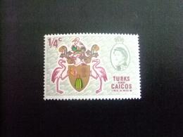 TURKS And CAICOS Islands 1969 Yvert N º 222** MNH