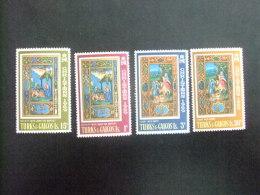 TURKS And CAICOS Islands 1969 NOEL NAVIDAD Yvert N º 237 / 40 ** MNH