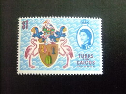 TURKS And CAICOS Islands 1971 ARMOIRIES Yvert N º 270 ** MNH