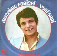MASSIMO RANIERI - VENT'ANNI - IO NON AVRO' - Disco, Pop