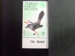 TURKS And CAICOS Islands 1973 OISEAU-CHAT Yvert N º 316 ** MNH