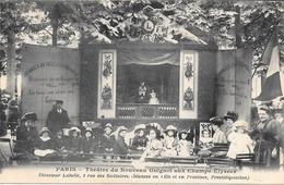 75 - PARIS - Théâtre Du Nouveau GUIGNOL Aux Champs Elysées - Directeur Labelle, 2 Rue Des Solitaires - Champs-Elysées
