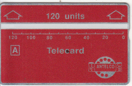 PARAGUAY(L&G) - ANTELCO Telecard 120 Units, First Issue, CN : 901A, Mint - Paraguay
