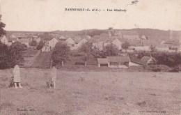 91 DANNEMOIS  Coin Du VILLAGE  Maisons EGLISE à Travers CHAMPS Animé - France