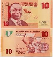 NIGERIA       10 Naira       P-33       2006        UNC - Nigeria