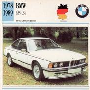 """Auto Da Collezione """"BMW  1978   635 CSI"""" (Germania) - Motori"""