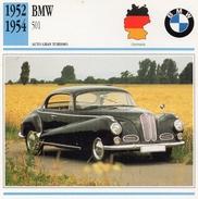 """Auto Da Collezione """"BMW  1952   501"""" (Germania) - Motori"""