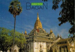 BIRMANIA  MYANMAR    BAGAN   ANANDA  TEMPLE     (VIAGGIATA) - Myanmar (Burma)