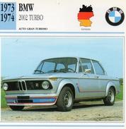 """Auto Da Collezione """"BMW  1973   2002 Turbo"""" (Germania) - Motori"""