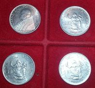 GIOVANNI XXIII° LOTTO 10 LIRE SPL1959-1960-1961-1962 CONCILIO CONDIZIONI SPL - Vaticano