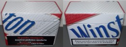 BOITE TABAC  WINSTON  (boite Vide) - Boites à Tabac Vides