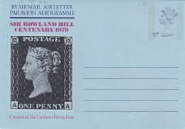Great Britain 1979 Postal Stationary Sir Rowland Hill - Mint (G86-6)