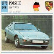 """Auto Da Collezione """"Porsche  1978   924 Turbo"""" (Germania) - Motori"""
