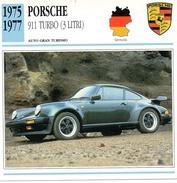"""Auto Da Collezione """"Porsche  1975   911 Turbo  3 Litri"""" (Germania) - Motori"""