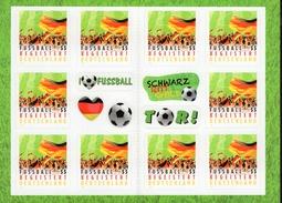 Markenheftchen Bund Postfr. MH 88 Fußball Begeistert Deutschland Postfrisch   MNH ** - BRD