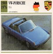 """Auto Da Collezione """"VW-Porsche  1969   914"""" (Germania) - Motori"""