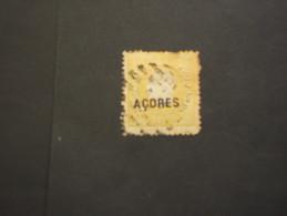 ACORES - 1871/9 LUIS  10 R. (difettoso) - TIMBRATO/USED