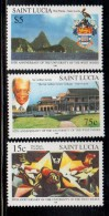 1998 Saint Lucia University West Indies Education   Complete Set Of .3 MNH
