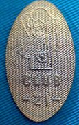 04204 ELONGATED COIN TOKEN EROTIC CLUB  21 - Pièces écrasées (Elongated Coins)