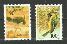 Djibouti N°463, 464 Neufs** Cote 9.95 Euros