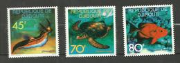 Djibouti N°465 à 467 Neufs** Cote 5.20 Euros