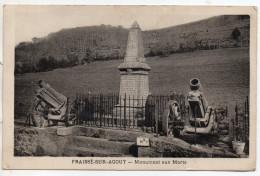 """"""" FRAISSE Sur AGOUT - Monument Aux Morts """" TRES RARE ! - La Salvetat"""
