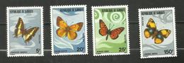 Djibouti N°477 à 480 Neufs** Cote 7.75 Euros