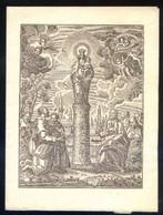 Zaragoza 1948. Díptico. Meds.: 123 X 165 Mms. - Imágenes Religiosas
