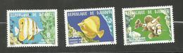 Djibouti N°488 à 490 Neufs** Cote 3.05 Euros