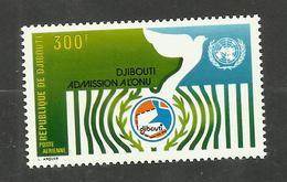 Djibouti POSTE AERIENNE N°115 Neuf** Cote 6.25 Euros