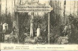 044  60  TRACY LE VAL   Entrée Du Cimetiere Allemand   Guerre 1914 - 1948   Environs De Compiegne - Andere Gemeenten