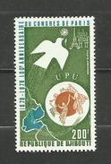 Djibouti POSTE AERIENNE N°129 Neuf** Cote 3.90 Euros