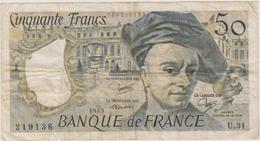 50 FRANCS 1983 - 50 F 1976-1992 ''Quentin De La Tour''