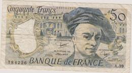 50 FRANCS 1984 - 50 F 1976-1992 ''Quentin De La Tour''